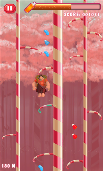 Wreck-It Ralph Sweet Climber