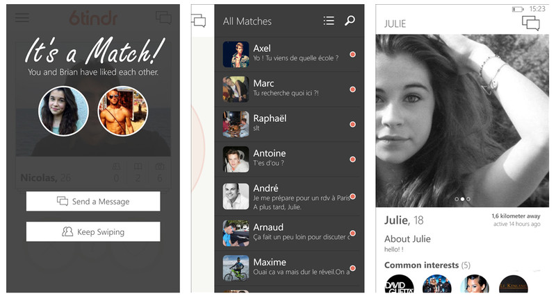 tinder dating nokia The best dating apps for iphone and android in 2018 i found the love of my life on tinder over a year ago we are engaged and have a baby on the way.