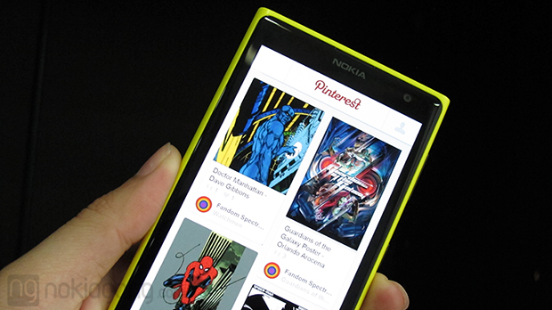 Pinterest-BETA-Windows-Phone