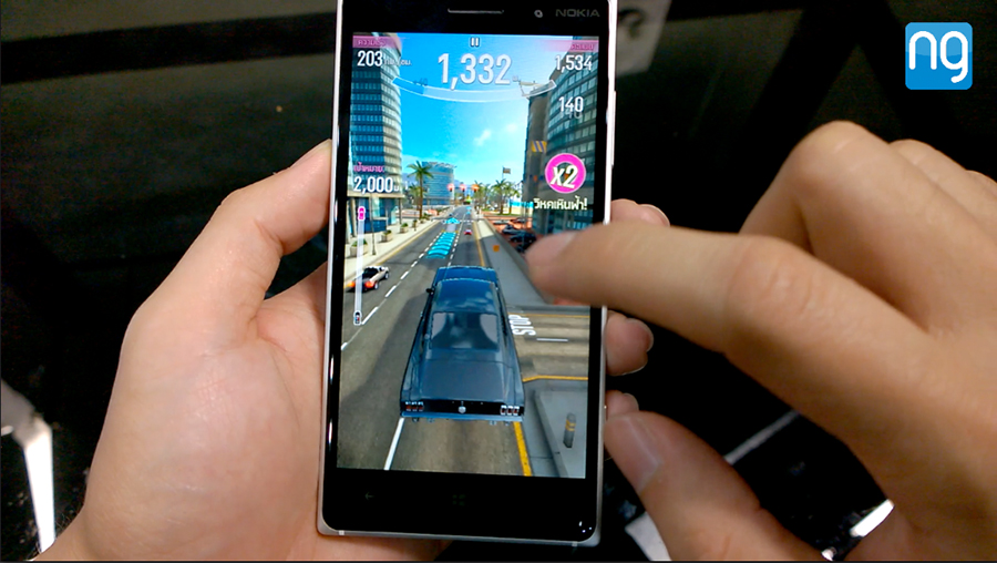 Games-test-on-Lumia-830