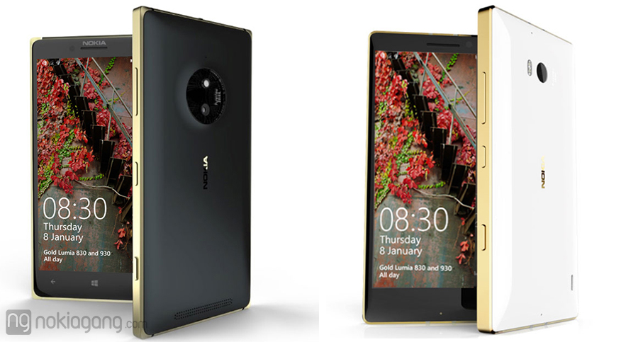 Lumia-830-Lumia-930-golden-editions